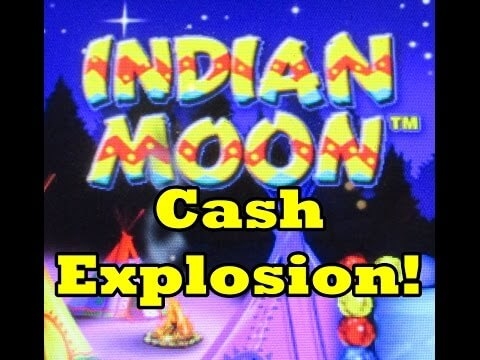 Indian Moon Cash Explosion Aristocrat Slot